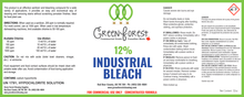 Load image into Gallery viewer, 12% Industrial Bleach - 910mL - Green Forest Cleaning