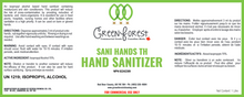 Load image into Gallery viewer, *NPN # - Canada Certified * 70% Hand Sanitizer - Green Forest Cleaning