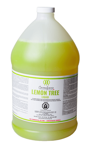 *DIN# Lemon Tree Commercial Disinfectant Concentrate - 4L Jug - Green Forest Cleaning