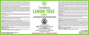 *DIN# - Canada Certified* Lemon Tree Commercial Disinfectant Concentrate - 4L Jug - Green Forest Cleaning