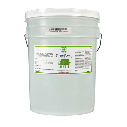 Laundry Alkali 20L Pail - Green Forest Cleaning