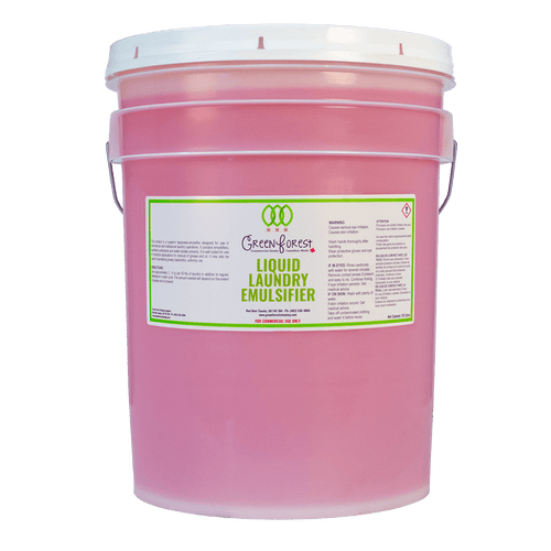 Liquid Laundry Emulsifier 20L Pail - Green Forest Cleaning