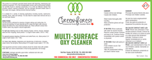 Load image into Gallery viewer, Multi-Surface Oxy Cleaner Concentrate - 1L - Green Forest Cleaning