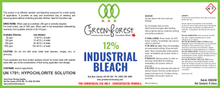 Load image into Gallery viewer, 12% Chlorine Industrial Bleach - Green Forest Cleaning