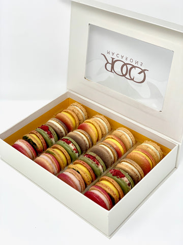French Macarons Art Collection- 24 Pack