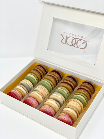 French Macarons Classic Collection - 24 Pack
