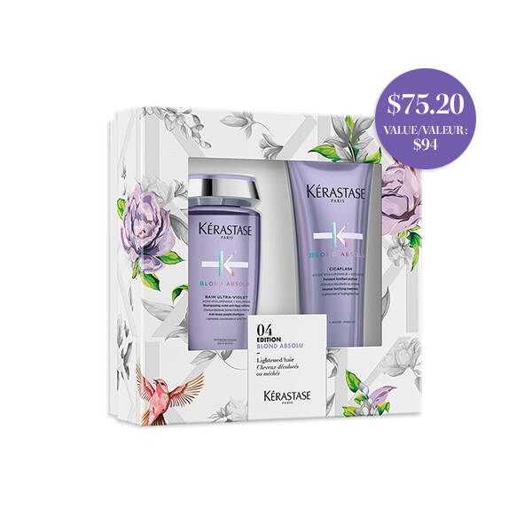Bain Ultra Violet Shampoo and Cicaflash Conditioner Duo Set