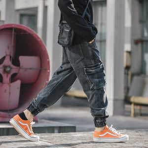 Mens Vintage Hip Hop Cargo Pants - THE ALL