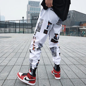 Harem Hip Hop Joggers w/ Ribbons - THE ALL
