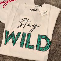 "T-Shirt ""Stay Wild"""
