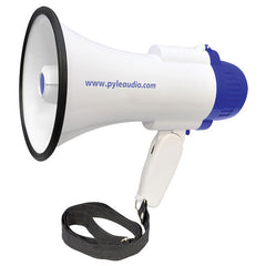 Bullhorn - Professional Lithium Rechargeable Batteries Megaphone 30 Watt Megaphone / Bullhorn with Siren and Record Function