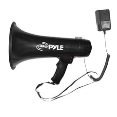Bullhorn - 40 Watts Professional Megaphone / Bullhorn w/Siren and 3.5mm Aux-In For Digital Music/iPod