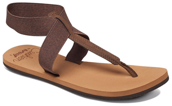 Reef Womens 'Cushion Moon' Sandals - Brown