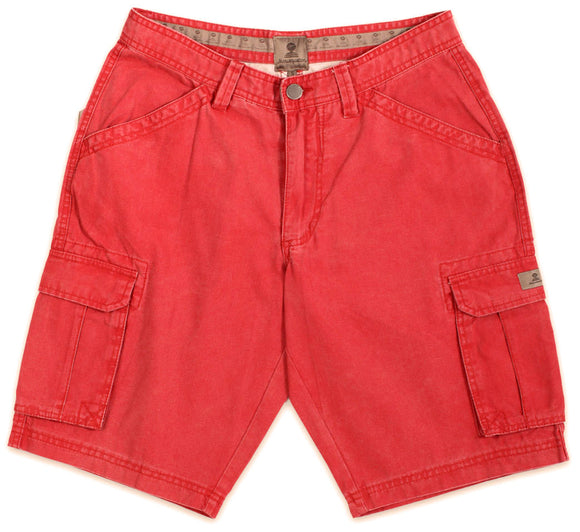 Mousqueton Mens 'Donan' Cargo Shorts - Chili Red