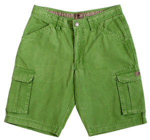 Mousqueton Mens 'Donan' Cargo Shorts - Menthe Green