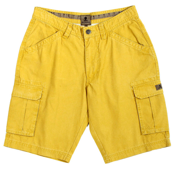 Mousqueton Mens 'Donan' Cargo Shorts - Miel Yellow