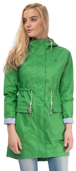 Lighthouse Womens 'Fayda' Raincoat - Sea Grass Green