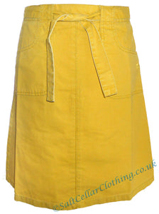 Mousqueton Womens 'Klarisse' Cotton Skirt - Yellow