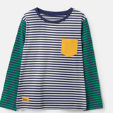 Lighthouse Kids Oliver long sleeve tee - Eclipse Stripe