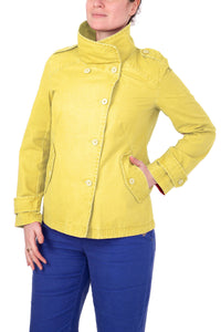 Mousqueton Womens 'Yana' Canvas Jacket - Yellow