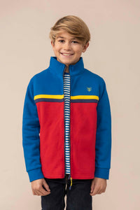 Lighthouse Kids Zach Full zip Sweatshirt - Ocean Blue