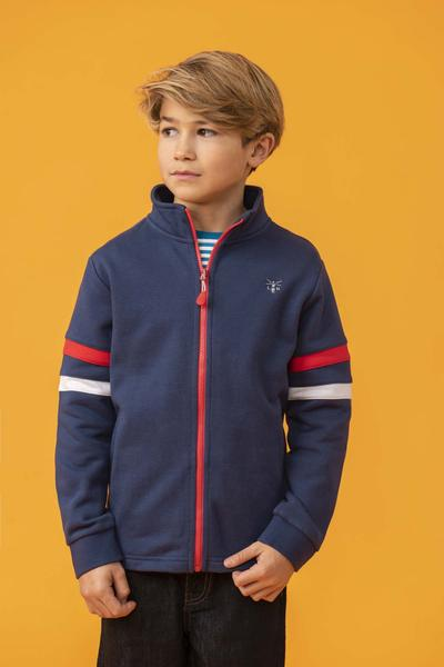 Lighthouse Kids Zach Full zip Sweatshirt - Eclipse