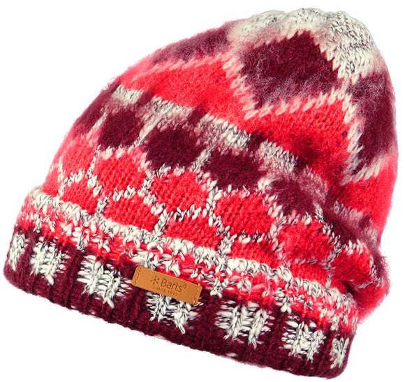 Barts Adults 'Emerald' Beanie - Red