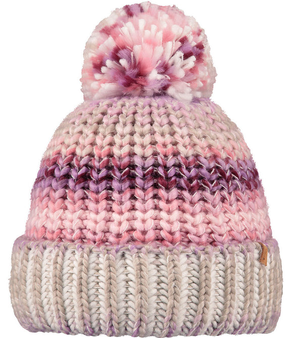 Barts Adults 'Jevon' Space Dyed Knitted Beanie - Orchid Pink