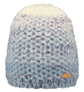 Barts Adults 'Lille' Space Dyed Knitted Beanie - Light Blue