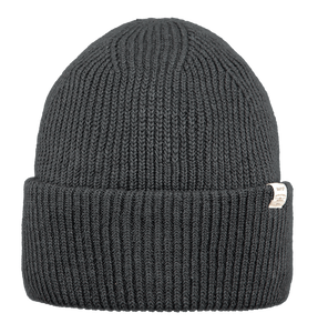 Barts Adults 'Mossey' Knitted Beanie - Dark Heather