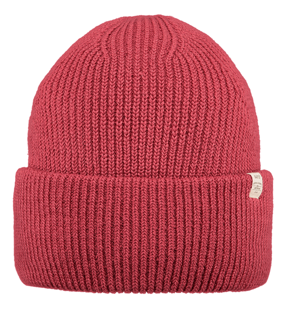 Barts Adults 'Mossey' Knitted Beanie - Lipstick