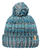 Barts Adults 'Jevon' Space Dyed Knitted Beanie - Turquoise