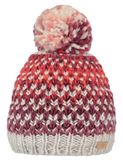 Barts Adults 'Nicole' Space Dyed Knitted Beanie - Maroon
