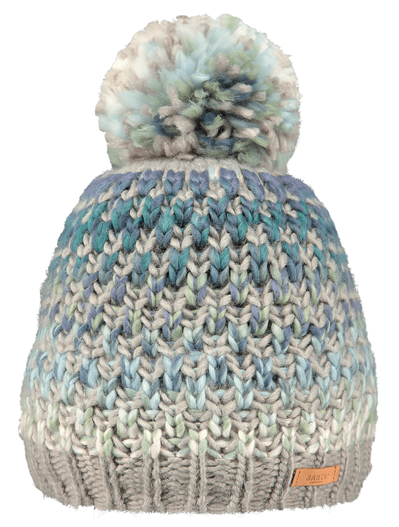 Barts Adults 'Nicole' Space Dyed Knitted Beanie - Mint