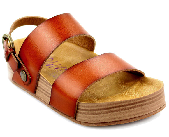 Blowfish Womens 'Marge' Sandals - Scotch Brown