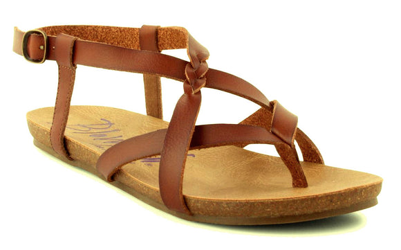 Blowfish Womens 'Granola-B' Sandals - Scotch Brown