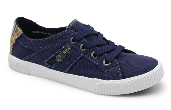 Blowfish Womens 'Fruit' Canvas Shoes - Navy