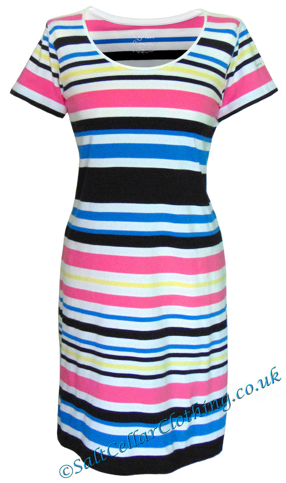 Captain Corsaire Womens 'Wendy' Striped Dress - Multicoloured