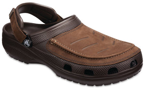 Crocs Mens 'Yukon Vista' Clog Sandals - Espresso Brown
