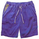 Deal Clothing Mens 'AS125 - BIG' Cargo Shorts - Denim Blue