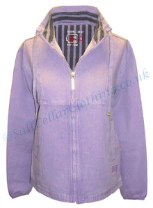 Deal Clothing Womens 'AS47' Canvas Smock Jacket - Lilac