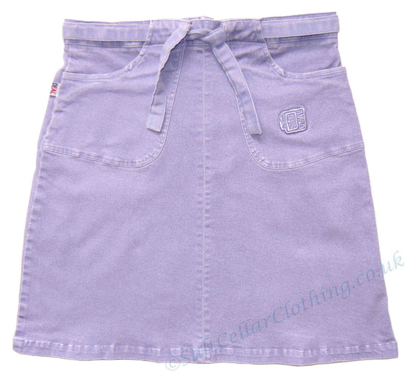 Deal Clothing Womens Tie Waist Skirt - Lilac
