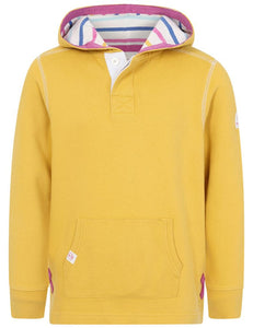 Lazy Jacks Kids 'LJ37C' Pullover Hoody - Gorse Yellow