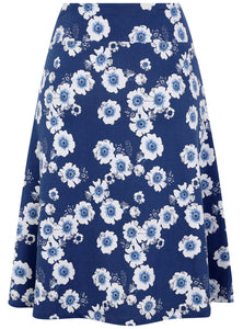 Lazy Jacks Womens 'LJ41' Jersey Skirt  - Blooming