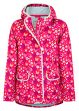 Lighthouse Kids 'Fleur' Raincoat - Pink Butterfly Print