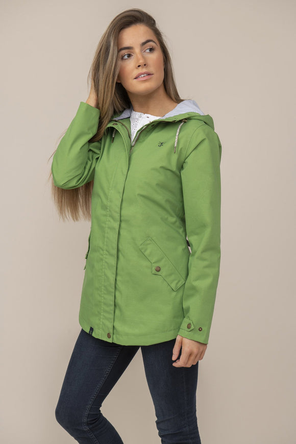 Lighthouse Womens 'Tori' Raincoat - Meadow Green