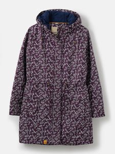 Lighthouse Womens 'Lauren' Raincoat - Blackcurrent Floral