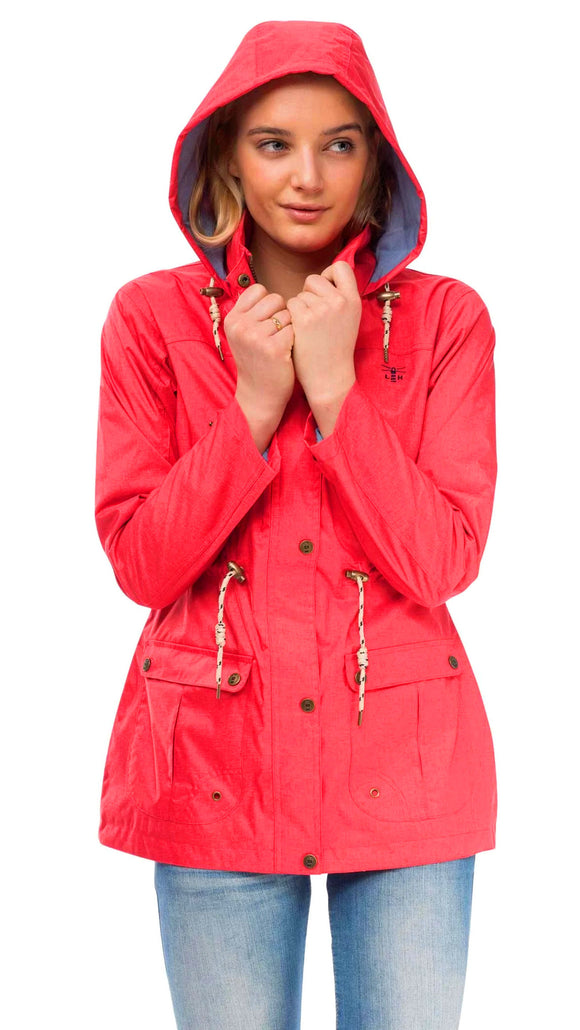 Lighthouse Womens 'Isla' Raincoat - Watermelon