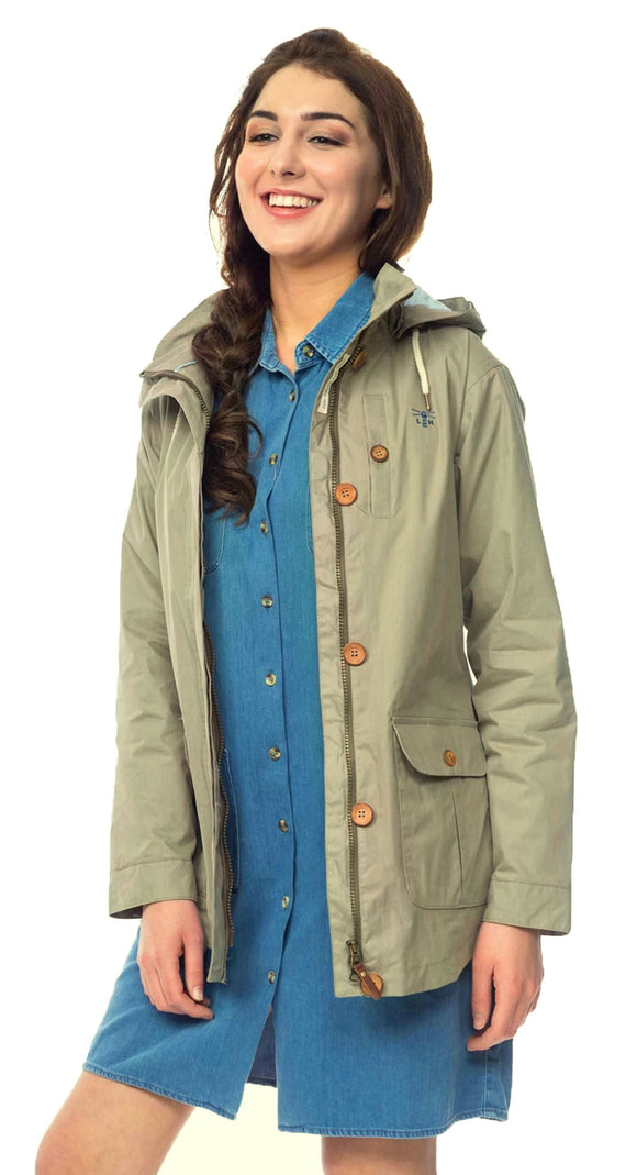 Lighthouse Womens 'Tori' Raincoat - Brushwood