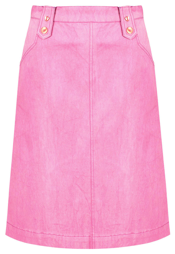 Mudd & Water Womens 'Lara' Skirt - Crocus Pink